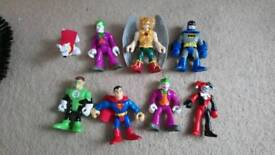 Imaginext superhero figures
