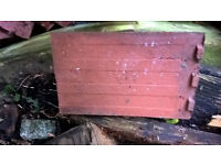 """550-600 Plain, rustic clay roofing tiles 6.6"""" x 10.6"""""""