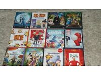 childrens DVDs.