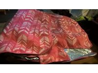 Pink patterned Picnic blanket