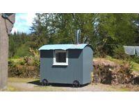 Charming quality-built shepherd's hut