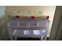Baby Changing /Storage Unit with Bath