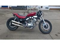 first to view will buy cafe racer very cool ride very low mileage virago 535xv