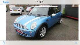 Mini Cooper for sale. Excellent conditio . MOT and taxed . New tyres . Well maintained.