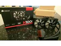 Corsair H100i Water Cooler PC CPU