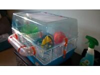 Hamster Cage ( 2 levels) & Loads of Accessories ( Just add Hamster !)