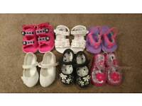 Bundle of shoes size 4