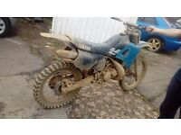 Yamaha dt 125 off road field bike enduro mx crosser not spares