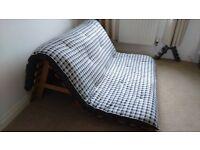 FUTON/ DOUBLE SOFA BED.