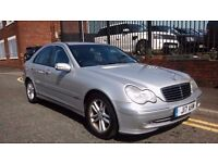 2003 Mercedes-Benz C Class 2.1 C220 CDI Avantgarde SE 4dr Saloon, £1,195