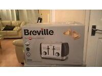 New Breville Strata 4-Slice Toaster Matt Grey