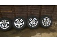 VW Golf MK4 aloy wheels