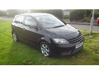 Cars motors swap sell golf plus 06reg 1.6fsi se 6 speed years mot 93k service history