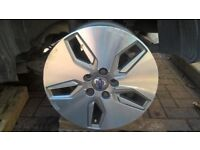 Volvo 16 inch alloy wheels 5 stud, 108 PCD 6.5 inch wide.
