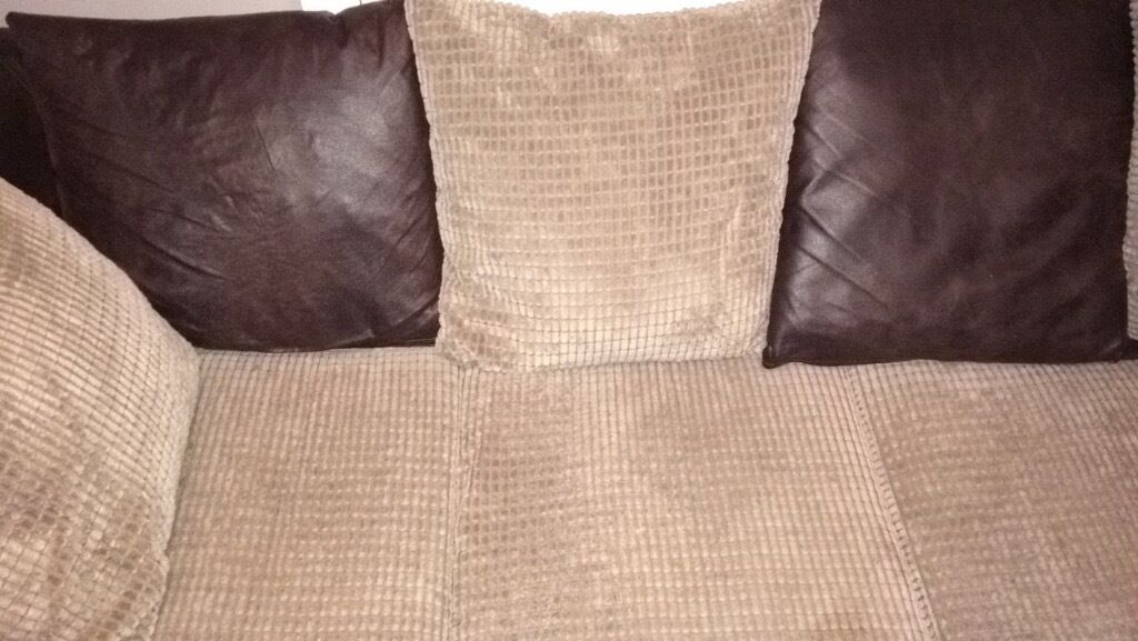 Corner sofa, includes cushions and foot stall. collection onlyin Reading, BerkshireGumtree - corner sofa for sale, cushions and foot stall included. under a year old and its immaculate condition. Sofa in a smoke free room. Only for sale due to down sizing, collection only. £300 no offers
