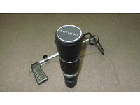 Pentax screw lens and accessories