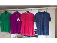 T Shirts and Polo T Shirts x16 good to very good condition mainly medium size