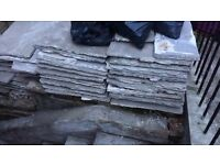FREE - 20+ reconstituted stone slabs and off cuts - free for collection