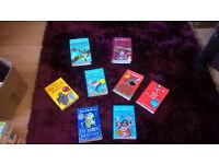 David Walliams Hardback Books - x8 books