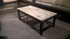 Custom Wooden Topped Garden Outdoor Table