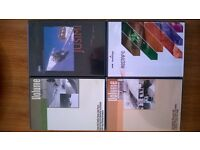 4 (four) Extreme Skiing DVDs. *REDUCED* Ski Jumping, Freeskiing, Rails, World Superpipe, etc