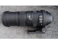 Sigma 150-500mm Nikon fitment lens
