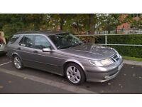 Saab estate, auto, petrol, 9 months MOT,taxed till 01/01/17