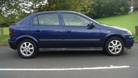 vauxhall astra active 5 door 1.6.2005(y)mot May a/cn elec w elec m.c/lock alloys £790 very nice car.
