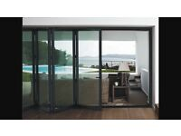 Aluminium Bifolding doors. Hi quality made to measure