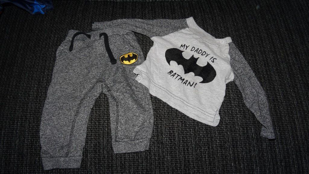 Batman set 6-9 month
