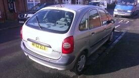 Citroen Picasso 52 plate, 95k, good cheap runner, **priced to sell**