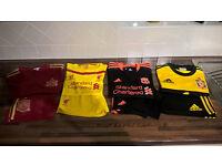 Boys football kits & trainers
