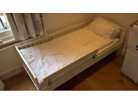 IKEA Gulliver Toddler bed with mattress