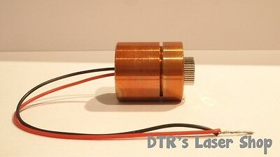 25mm 7w Nubm44-v2 450nm Laser Diode In 25mm Copper Module Wleads Glass Lens