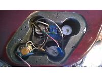 Vintage V99 Les Paul Goldtop Delux - upgraded pickups and hardware
