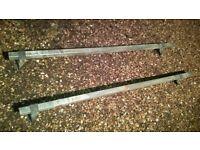 Megabars van roof rack bars