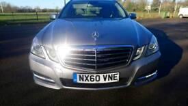 Mercedes E350 avant-garde blue efficiency