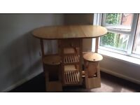 Lovely living room table and 2 stools. Collection only need gone today. Asking for £15 Ono