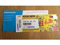 V Festival Weekend Camping Ticket-Weston Park