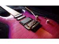 Kramer Striker 211 Guitar (Trans Purple) with Case