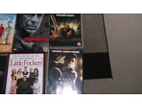 LARGE BUNDLE OF DVDS AND BLU RAYS