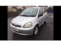 stunning toyota yaris collection 999cc ideal first car low miles px welcome