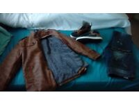 Mens outfit.