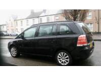 Vauxhall zafira 1.6 black New mot only 71k on clock £1900