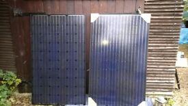 Axitec AC-250M/156-60S (250W) & a JCSMB250M-60 JCS Solar panels