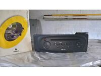 renault megane II radio cd player