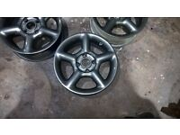 ford st rs gti alloys