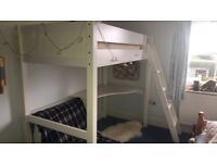 Bed With Desk And Futon Single Beds For Sale Gumtree