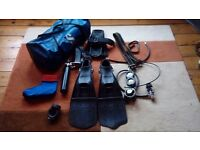 Scuba pro proffesional diving equipment