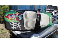 pro high speed kneeboard for boat or jetski